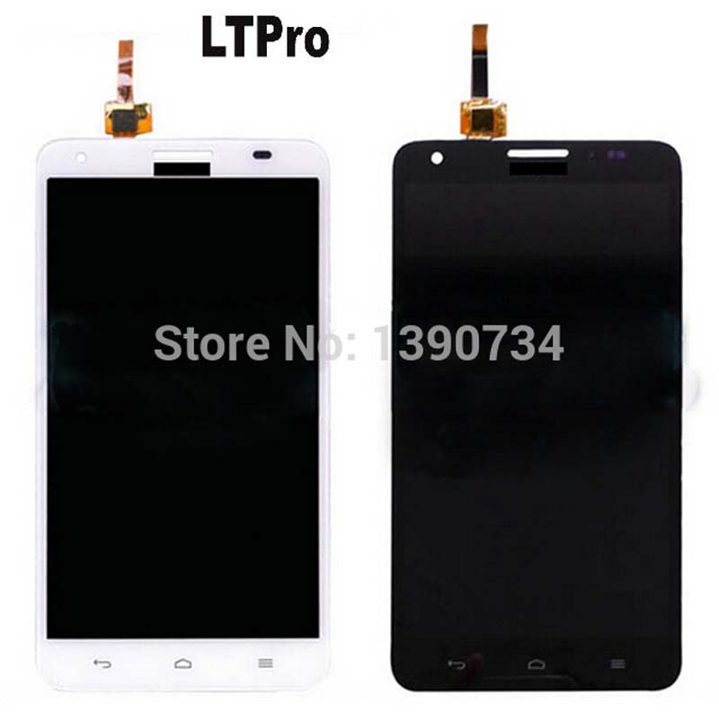 LTPro Black/White For Huawei Ascend G750 G750 T00 Honor 3X Glory 4 LCD Display with Touch Screen Digitizer Smartphone