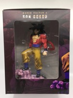 Dragon Ball Super 4 Son Goku Figures Super Saiyan Model Toys 28cm