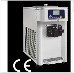 Mini Commercial Single Flavor 12L Soft Ice Cream machine Frozen Yogurt Machine te
