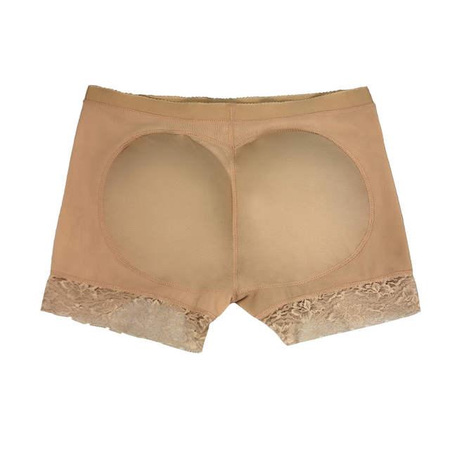 dec1c553a80 S -2XL Brazilian Butt lifter buttock padded panty Booty Lifter Boyshort  butt lift up underwear