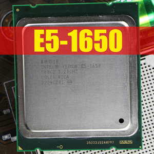 Intel Xeon E5 1650 3.2GHz 6 Core 10Mb Cache Socket 2011 CPU Processor SR0KZ e5-1650 Six-Core (working 100% Free Shipping)
