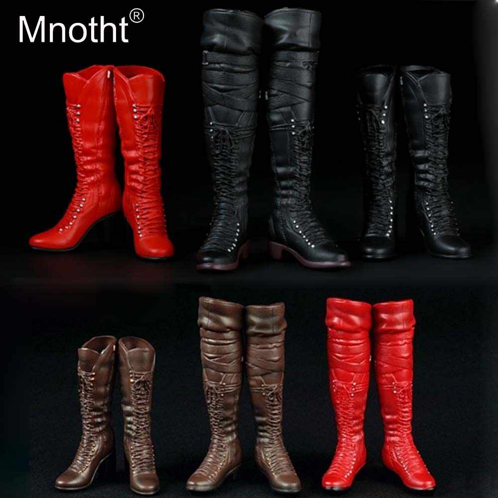 1:6 Scale Military Male Combat Boots for 12/'/' Phicen//Kumik Figure Body Toy B