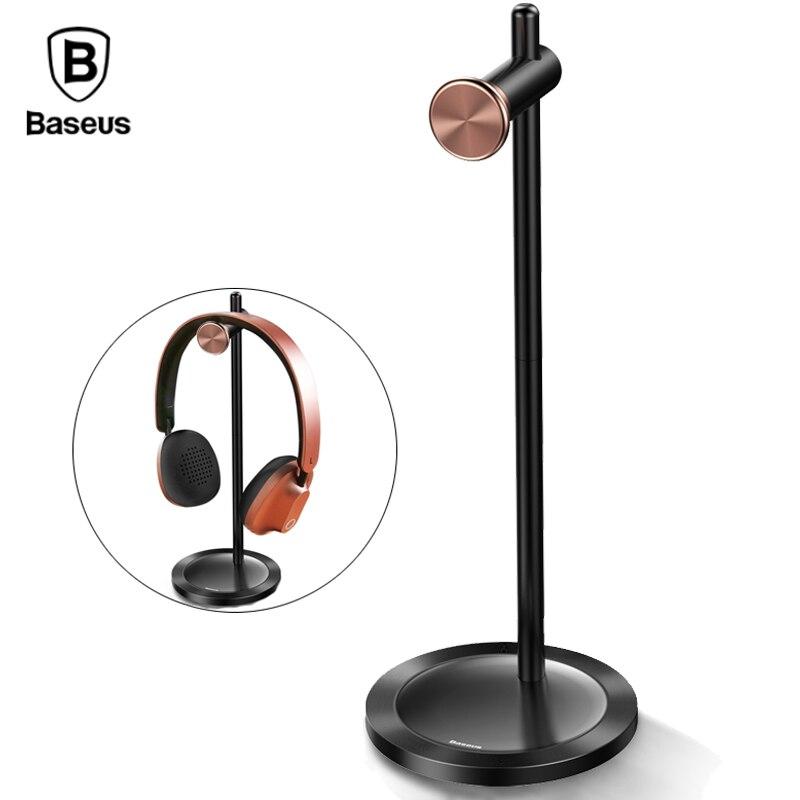 Baseus Kopfhörer Halter Universal Multifunktionale Kopfhörer Kopfhörer Ständer Halter Metall Schreibtisch Display Aufhänger Halter Für Headset