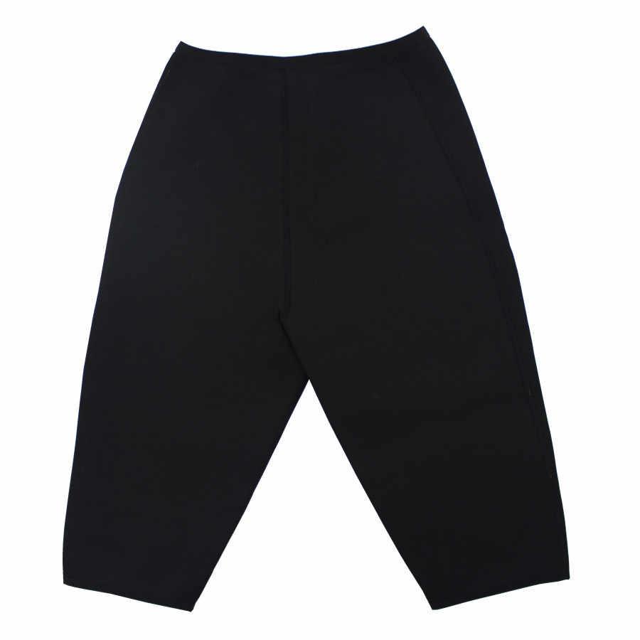 Женские утягивающие штаны для тела новые термо утягивающие штаны Спортивное Корректирующее белье из неопрена потеря веса Пот Сауна живот Талия корсет