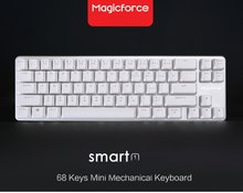 Antighosting Magicforce Pintar 68 Tombol Non-Backlit USB Keyboard Gaming Mekanik Aluminium Alloy Outemu Biru/Hitam/Coklat Axis(China)