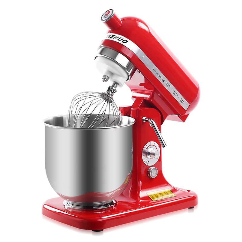 220V Multifunctional Electric Dough Mixer 7L Full-automatic Egg Milk Beater Machine For Commercial And Household Using stainless steel manual push self turning stirrer egg beater whisk mixer kitchen wholesale price
