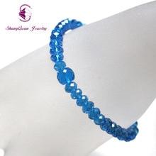2017 Charm Bracelets & Bangles Fashion Crystal Stone Bracelets For Women Friendship Bracelets Femme Jewelry SQSL001