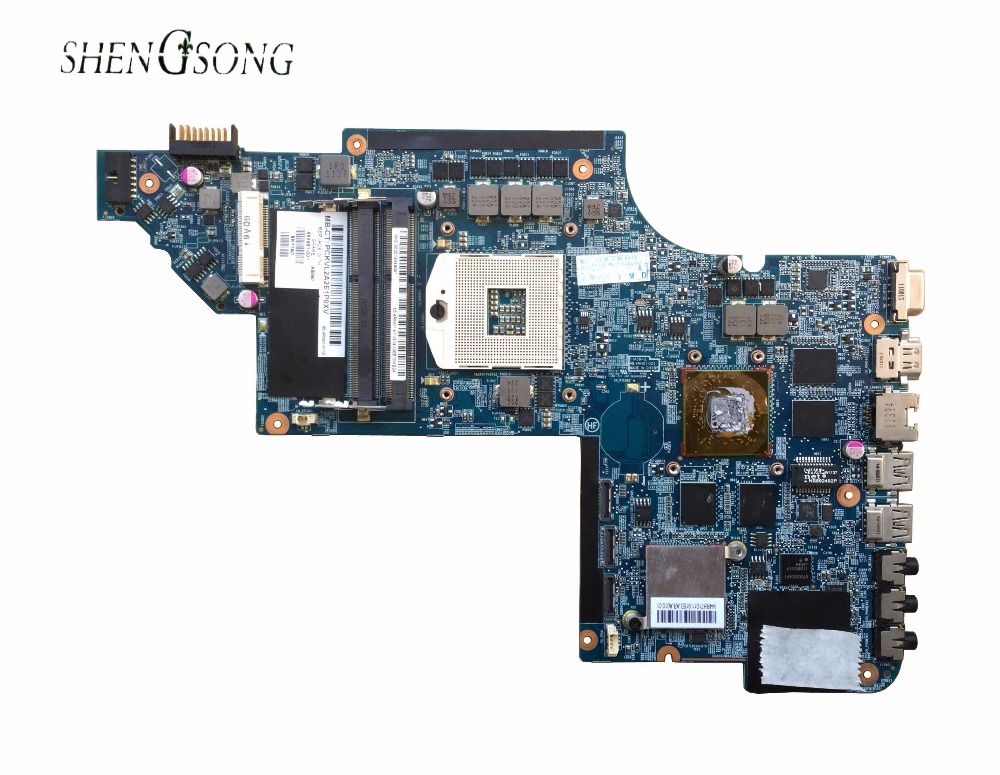 Free shipping laptop motherboard 665991-001 for hp Pavilion DV7 DV7-6000 System Board PCA HM65 6770/2G QUA- DSC,100%Tested! 516294 001 free shipping main board for hp pavilion dv7 dv7 2000 motherboard pm45 ddr2 with ati graphics 100% tested