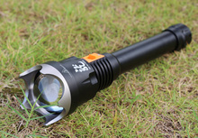 купить JAUNT D70 Cree XLamp XHP70 4000LM Diving Flashlight with Zooming white Led Light +Free 3 PCS 26650 Battery по цене 14400.79 рублей