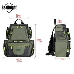 Image 4 - SeaKnight SK004 Outdoor Fishing Tackle Bag  Large Capacity 25L Multifunctional 41*44*20cm  Fishing Backpack 1000D Nylon
