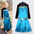New 2016 cartoon girl Dress Girl Princess Dress autumn cartoon long dress Costume,baby & kids autumn dresses