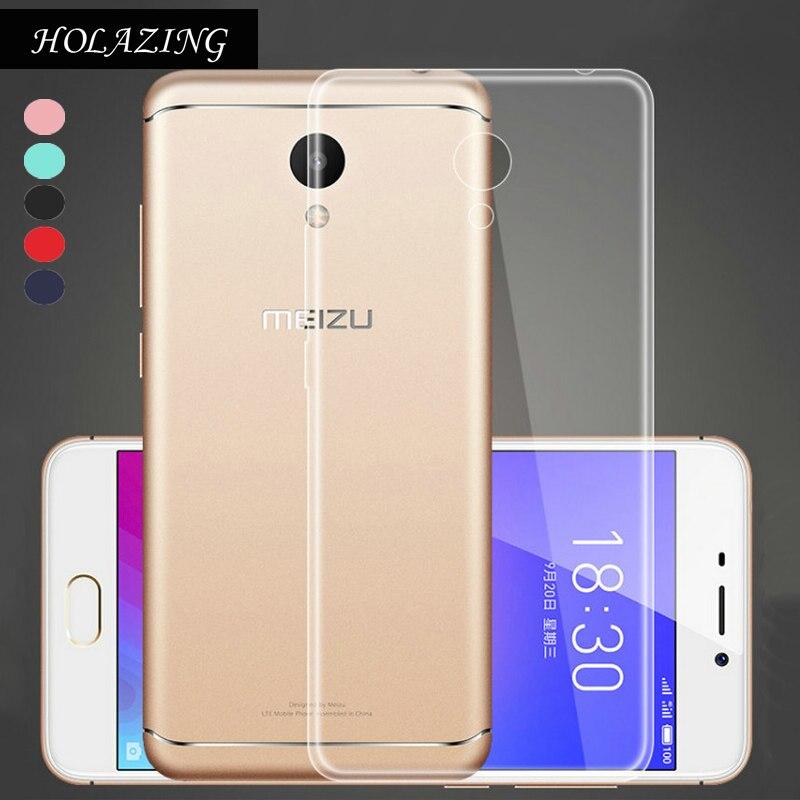 Holazing оптовая продажа прозрачный гель ТПУ Резиновая Мягкий силиконовый чехол для Meizu M6 5.2 ультра тонкий защитный кожного покрова