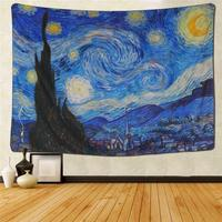 Wall Hanging Tapestry Hippie Galaxy Tapestry Starry Night Tapestry Mandala Bohemian Blanket Home Decoration Fashion Art Design
