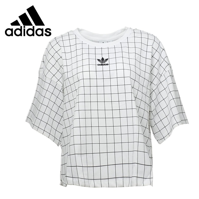 Original New Arrival 2018 Adidas Originals CLRDO T-SHIRT Women's T-shirts short sleeve Sportswear original new arrival 2017 adidas freelift prime men s t shirts short sleeve sportswear