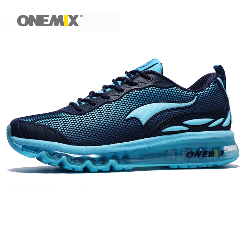 где купить ONEMIX Breathable Mesh Women Sport Sneakers chaussure running homme Men Jogging Shoes Comfortable Men Shoes Sales Size US 6.5-12 дешево