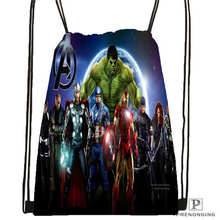 Customavengers_age_ofultrionDrawstring Backpack Bag for Man Woman Cute Daypack Kids Satchel (Black Back) 31x40cm#20180611-03-147