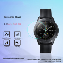 Tempered Glass For Samsung Galaxy Watch 42MM/46MM Screen Protector 9H 2.5D Protection Film For Samsung Galaxy Watch(China)