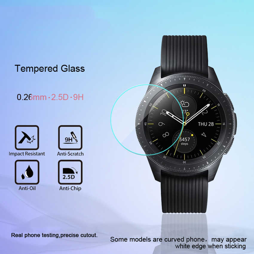 Tempered Glass For Samsung Galaxy Watch 42MM/46MM Screen Protector 9H 2.5D Protection Film For Samsung Galaxy Watch