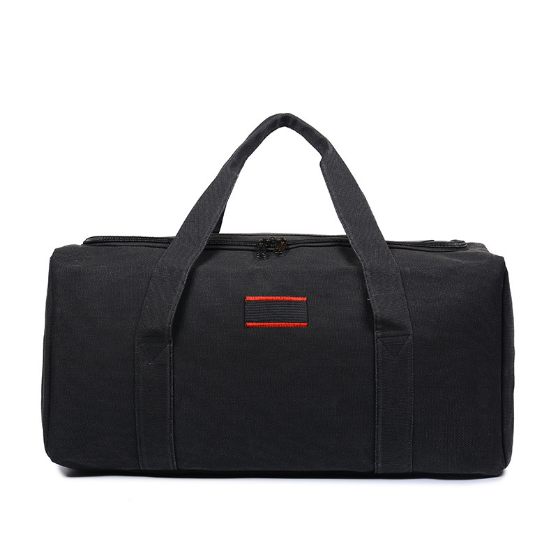 Wholesale Canvas Men Travel Bags Carry On Luggage Bags Men Duffel Bag Travel Tote Large Weekend Bag Overnight High Capacity 2019