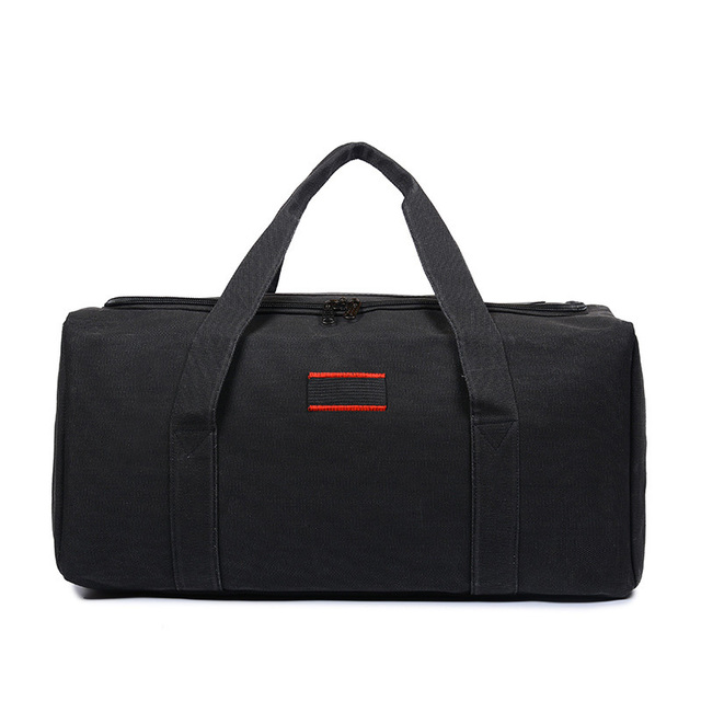 Wholesale Canvas Men Travel Bags Carry on Luggage Bags Men Duffel Bag  Travel Tote Large Weekend Bag Overnight high Capacity 2019 2b544e4aa677
