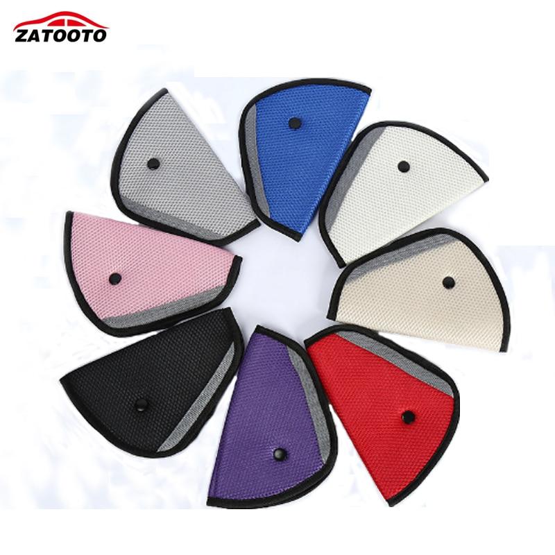 30 pcs / lot Car Safety Shoulder Belt Cover Comfortable Child Seat Belts Holder Protector Padding Car Interior Accessories