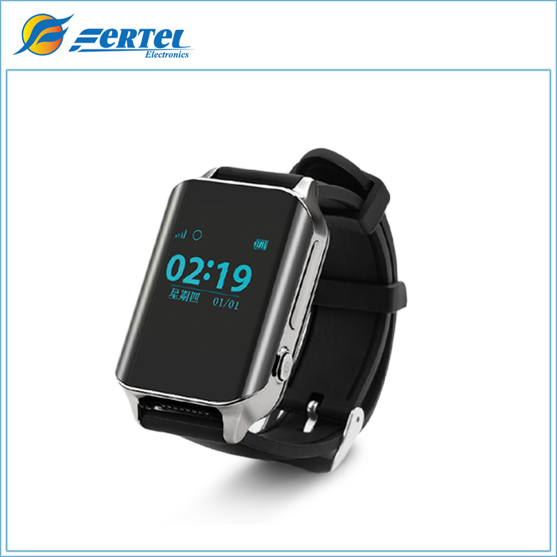 FERTEL A16GPS Tracker Watch SOS Call Location Finder Heart Rate Monitor GSM Large Screen Tracker for Elderly Man Women Free Ship wireless service call bell system popular in restaurant ce passed 433 92mhz full equipment watch pager 1 watch 7 call button