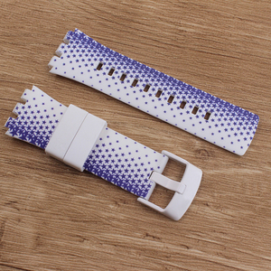 Image 5 - Heat Original quality watchband Accessories watch strap band For Swatch for Touch series Silicone  stainless buckle logo SURB100