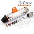 51mm* 370mm Exhaust Muffler System Slip On For CRF150F CRF230F 2003-2013 Motocross Enduro Supermoto Dirt Bike Motorcycle