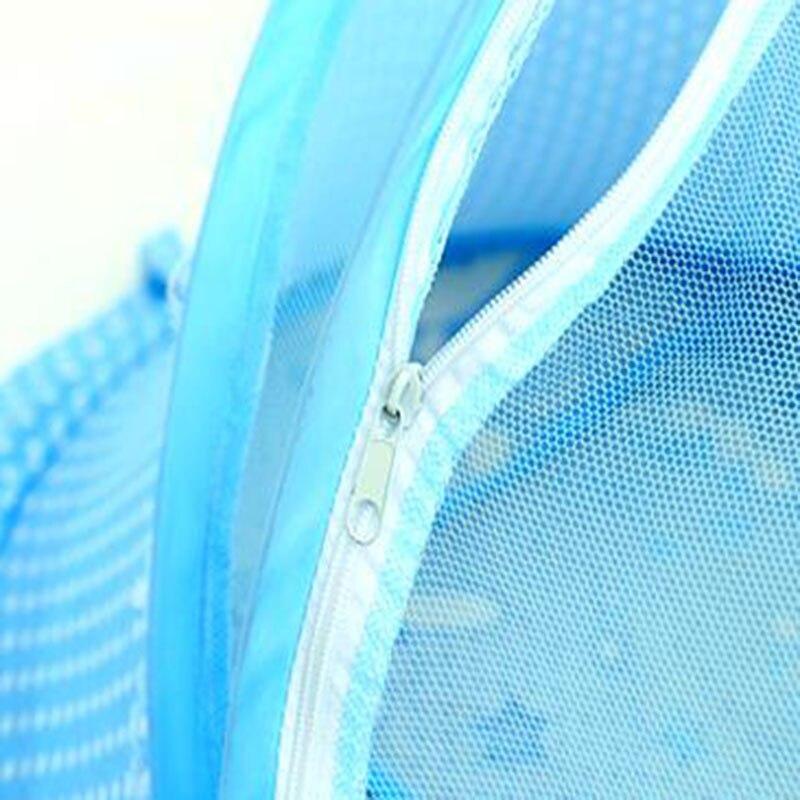 kinderbett tragbare moskitonetze mit matten vorhnge betthimmel rosa blau insektennetz falten rund moustiquaire gieen leuchtet bouble in kinderbett - Betthimmel Vorhnge