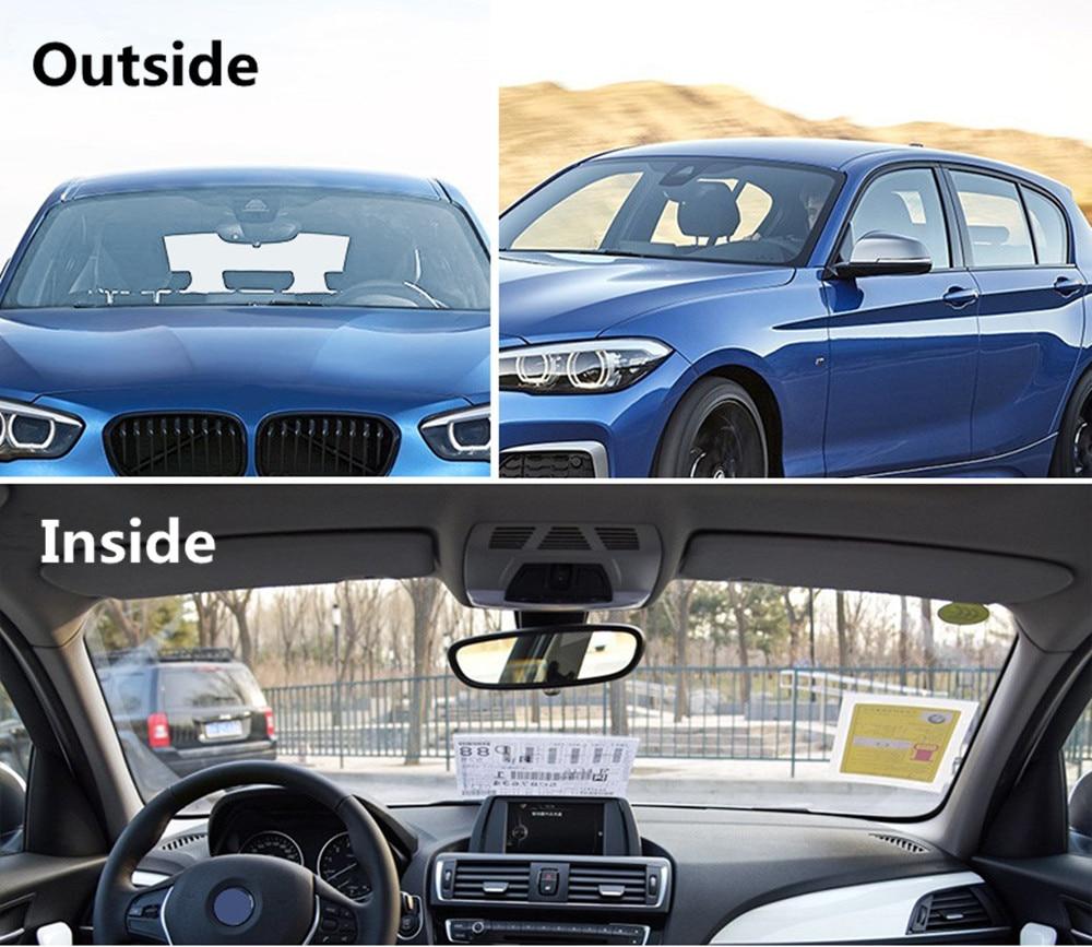 HOHOFILM 152 cm x 100 cm bleu clair 75% VLT Film photochromique voiture Auto maison verre autocollant Smart fenêtre intelligente optiquement contrôlée