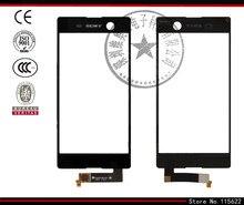 Touchscreen for Sony E5603,E5606,E5633,E5653,E5663 Xperia M5 Dual Digitizer Glass Panel Front Sensor with Logo (black,white)