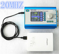 MHS2300A CNC Double Channel Arbitrary Waveform DDS Function Signal Generator Signal Source 20HMZ