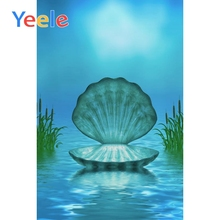 Yeele Big Shell Lakes Night Baby Photography Backdrops Fairy Tale Wedding Girls Photo Backgrounds Photocall for The Studio