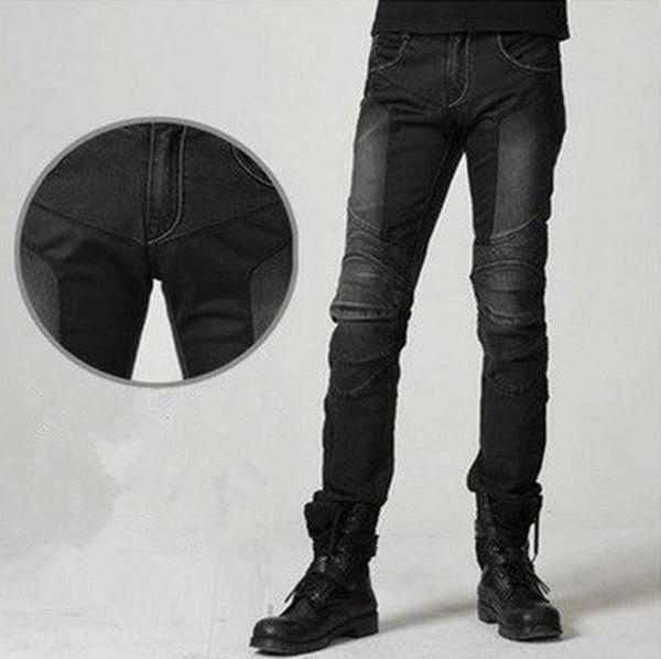 UglyBROS JUKE UBP-01 ג'ינס שחור קיץ רשת ג'ינס לגברים לגברים אופנוע מגן מכנסיים מרוץ מכנסיים מכנסיים Moto