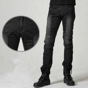 Image 1 - UglyBROS JUKE UBP 01 Jeans Black Summer Mesh Breathable Mens Jeans Motorcycle Protective Pants Racing Pants Moto Pants