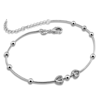 925 Sterling Silver Anklets, sterling silver jewelry anklet  for women