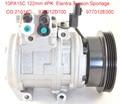10PA15C AC компрессор для автомобиля Hyundai Tucson 2.0L для Kia Sportage 2.0L Spectra 2.0L L4 977012D700 97701-2D700 98373 977012E000