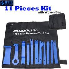 11pc painel guarnição ferramenta de remoção conjunto removedor acessível e ferramenta de reparo de rádio