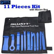 Kit doutils pratiques pour enlever les garnitures de panneaux et outils de réparation Radio, 11 pièces