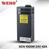 (SCN 1000 24) AC DC Power преобразователь 24 В 1000 Вт питания постоянного тока 24 В 1000 Вт
