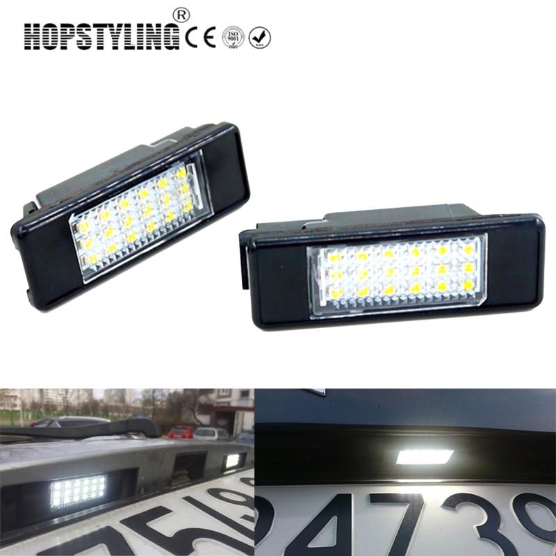 Penggantian auto belakang plat nomor cahaya Untuk Citroen C2 3D / C3 - Lampu mobil - Foto 4