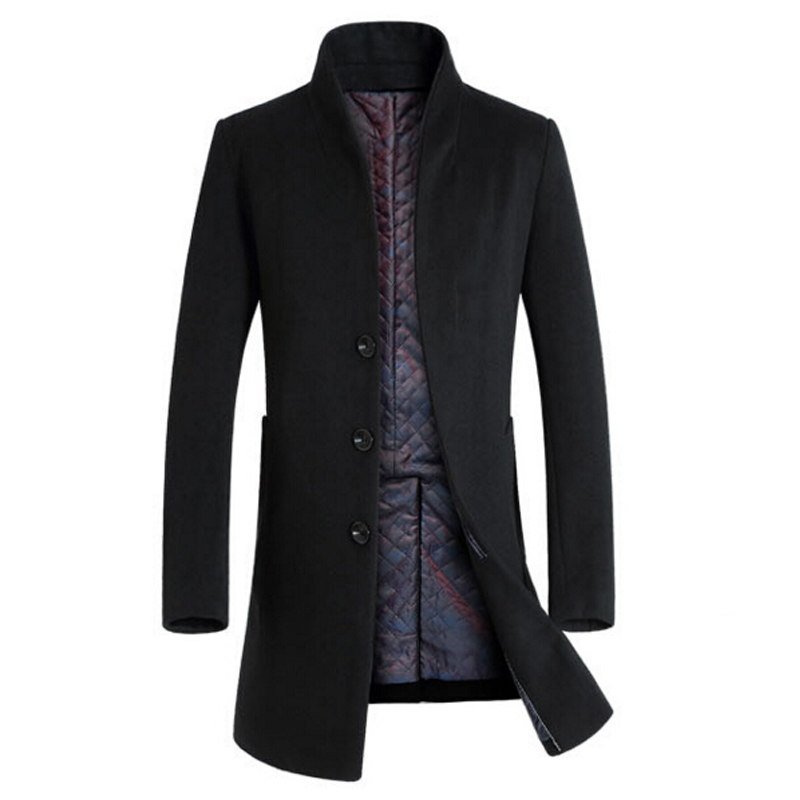 Online Buy Wholesale long wool jacket men from China long wool ...