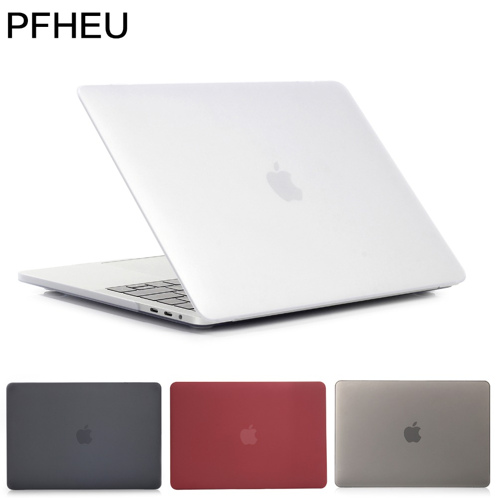 Pfheu,laptop computer Case For Apple Macbook Professional Retina Air 11 12 13 15 Inch,for Mac New Professional 13 15 Cowl,2018 Air 13 A1932 With Contact Id.