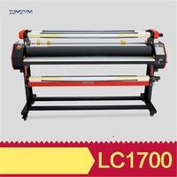1630 мм рулон шириной ламинатор для ламинирования лайнер фильм 1400 Вт Мощность, рулона в рулон ламинатор 110 В/220 В холодный ламинатор ролл LC 1700