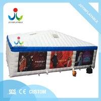 Напольный прочный шатер рекламы PVC 0,4 мм раздувной с водостойким, раздувной шатер события для продажи