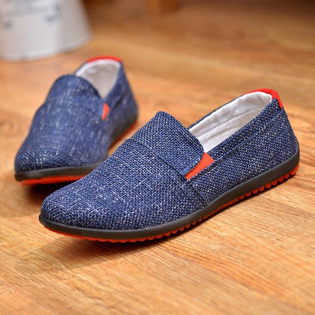 Zapatos de lona Casuales Marca Slip-on Zapatos De Goma Zapatos de Los Hombres de Poliéster de Calidad Superior Para Hombre Zapatos Casual Cesta