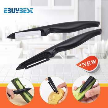 Antioxidant Ceramic Peeler Fruit Vegetable Peeler Knife Cutter Zester Potato Carrot Peeler Kitchen Tool Gadgets
