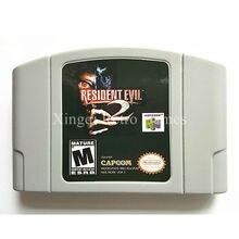 Nintendo N64 Игры Resident Evil 2 Видеоигры Картридж Консоли Карты Английский Язык Версия США