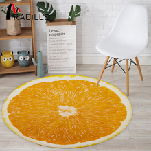 Miracille 3D Print Fruits Round Carpet Soft Coral Velvet Bed Living Room Rug Non-slip Bathroom Mat Table Chiar Yoga Mat Decor 50 70mm 220v 330w stainless steel mica band heater electric industrail heating element for plastic injection machine