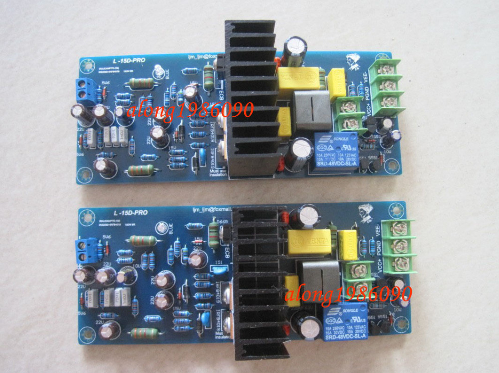 цена на NEW LJM L15D Stero Power Amplifier board Assembled AMP board (include 2 boards)